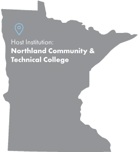 Host Institution Map