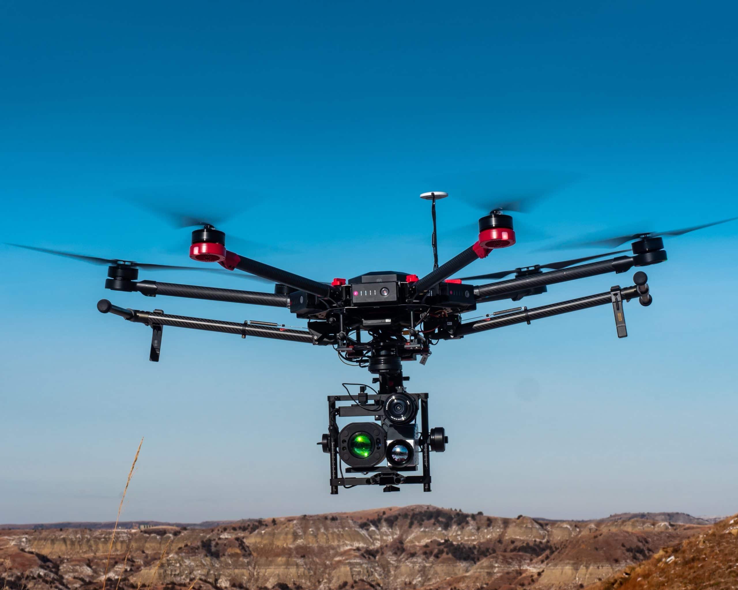 Drone in flight - SkySkopes