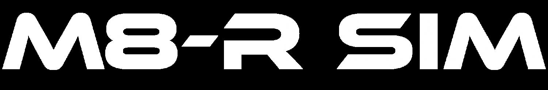 M8-R_SIM_Logo-White